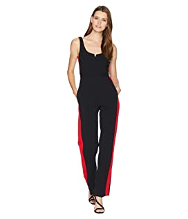 Jumpsuit with Side Stripe