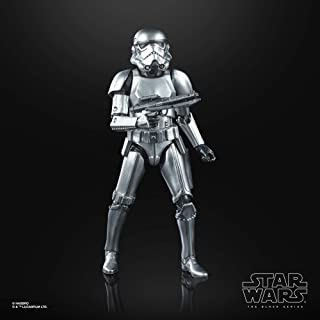 Star Wars The Black Series Carbonized Collection Stormtrooper Toy 6-Inch-Scale Star Wars: The Empire Strikes Back Collecti...