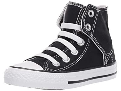 Converse Kids SINGLE SHOE Chuck Taylor(r) All Star(r) Easy Slip (Little Kid/Big Kid) (Black) Kids Shoes