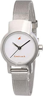 Fastrack UpgradeCore Analog White Dial Women's Watch NM2298SM02 / NL2298SM02