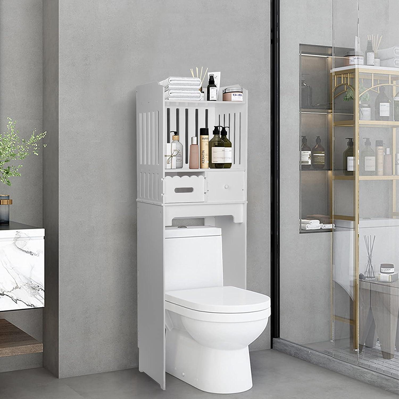 Gorgeous Freestanding Space Saver Tall Deluxe Towel Modern Organizer Rack Floor