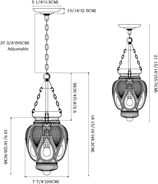 DSMJFU Black Glass Pendant Light Kitchen Island Lighting Farmhouse Light Fixture for Dining Room, Entryway, Bathroom,Sink, Br