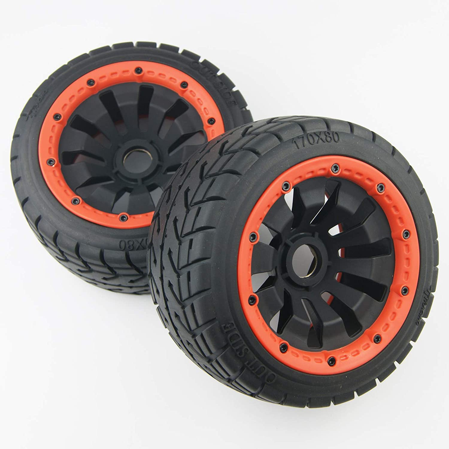 TITRACING quality assurance Upgrade Rear On Road Metal hex Belted Sales Tire Wheel