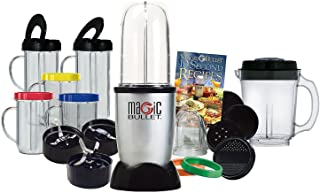 Magic Bullet Express Deluxe 26 Piece Mixer & Blender (25 Piece with Bonus Ice Shaver Blade)