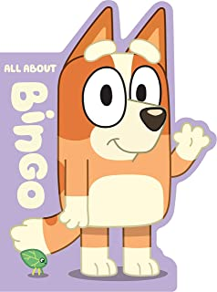 Bluey: All About Bingo: A Shaped Board Book