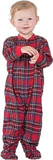 Infant Classic Plaid Footie Pajamas Onesies