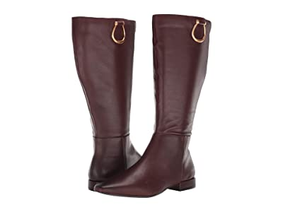 Naturalizer Carella Wide Shaft (Chocolate Leather) Women