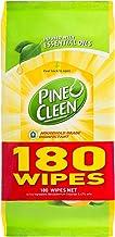 Pine O Cleen Household Grade Disinfectant Wipes, Lemon Lime, 180 pack (3120952)