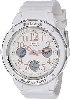 Baby G Women's Automatic Wrist Watch analog-digital Display and Resin Strap, BGA150EF-7B