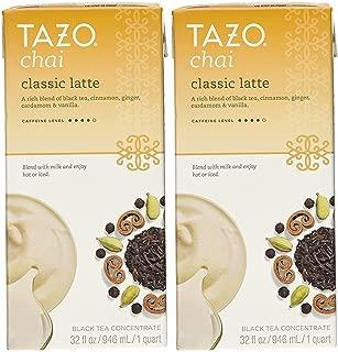 Tazo Chai Tea Latte Concentrate 32 Oz (2x32 Oz)