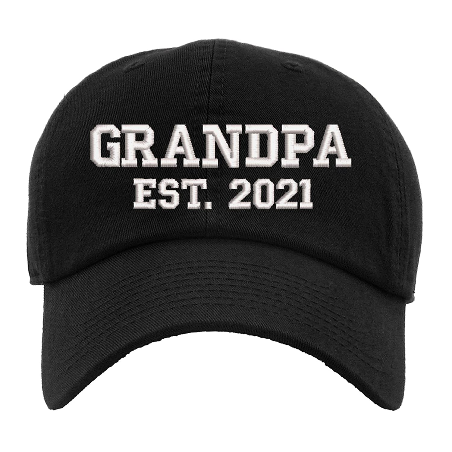 Grandpa Est. 2021 Personalized Name Inventory cleanup selling sale Classic Year Max 67% OFF and Basebal