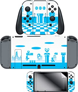 Controller Gear Nintendo Switch Skin & Screen Protector Set, Officially Licensed By Nintendo - Super Mario