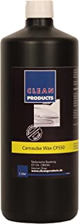CLEANPRODUCTS Autowachs CP550 1 Liter   Carnaubawachs Auto Versiegelung mit Lackpflege für strahlenden Hochglanz, Intensive Farben, hohe Farbbrillanz. Zur Autoaufbereitung Fahrzeugaufbereitung