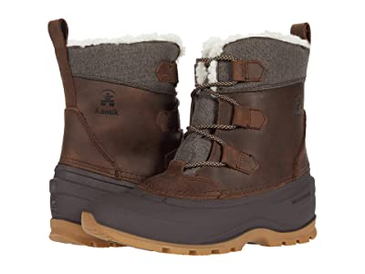 Kamik Snowgem Lo (Dark Brown) Women