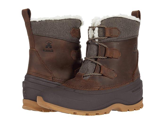Kamik Snowgem Lo (Dark Brown) Women's Boots
