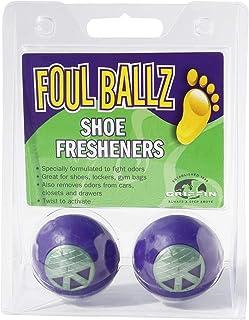 GRIFFIN Foul Ballz Shoe Fresheners - Odor Eliminator and Absorber (Deodorizer)