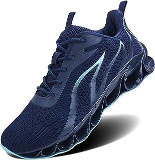 Mens Casual Walking Sneakers Slip On Blade Outdoor Sport Shoes