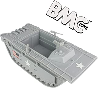 BMC WW2 USMC Amtrac LVT - 1:32 Amphibious Vehicle for Plastic Army Men