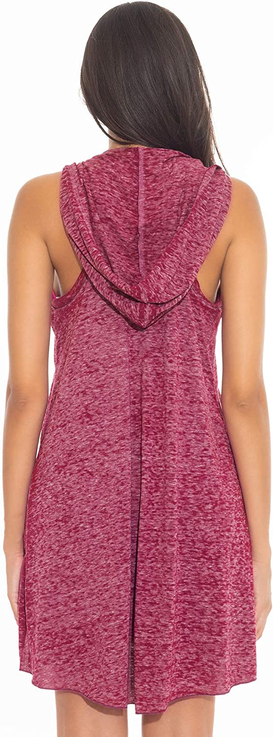 Becca by Rebecca Virtue Women's T-Shirt Pullover Hoodie Dress Swim Cover Up