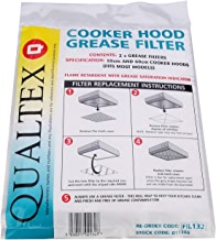 Universal Cooker Hood Grease Filters - Pack of 2