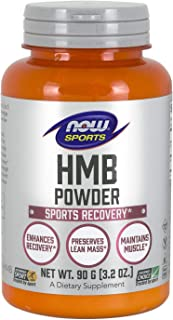 Sponsored Ad - NOW Sports Nutrition, HMB (β-Hydroxy β-Methylbutyrate)Powder, Sports Recovery*, 90 Grams