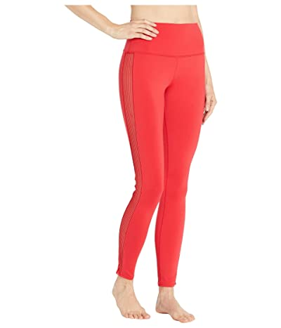 ALO High-Waist Line-Up Leggings (Scarlet) Women