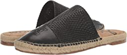 Black Milos Woven Leather/Butter Nappa Leather