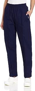 Women's Comfortable 2-Pocket Classic Fit Medical Scrub Pant Uniform