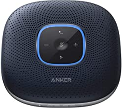 Anker PowerConf Bluetooth Speakerphone with 6 Microphones, Enhanced Voice Pickup, 24 Hour Call Time, Bluetooth 5, USB C Connection, Compatible with Leading Platforms, PowerIQ Technology-Blue