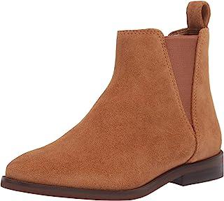 Lucky Brand Women's HAYLIA Bootie Chelsea Boot, COGNAC, 7