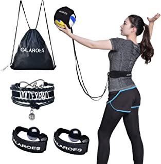 Volleyball Training Equipment Aid - Solo Practice for Serving and Arm Swings Trainer. Practice Overhand Serve, Spike, Arm Swings, Hitting. Gifts for Daughter, Volleyball Players, Sister, Friend