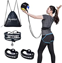 Volleyball Training Equipment Aid - Solo Practice for Serving and Arm Swings Trainer. Practice Overhand Serve, Spike, Arm ...