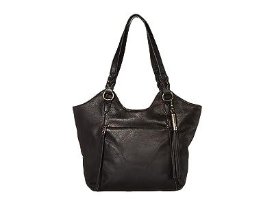 The Sak Sierra Leather Shopper (Black) Handbags