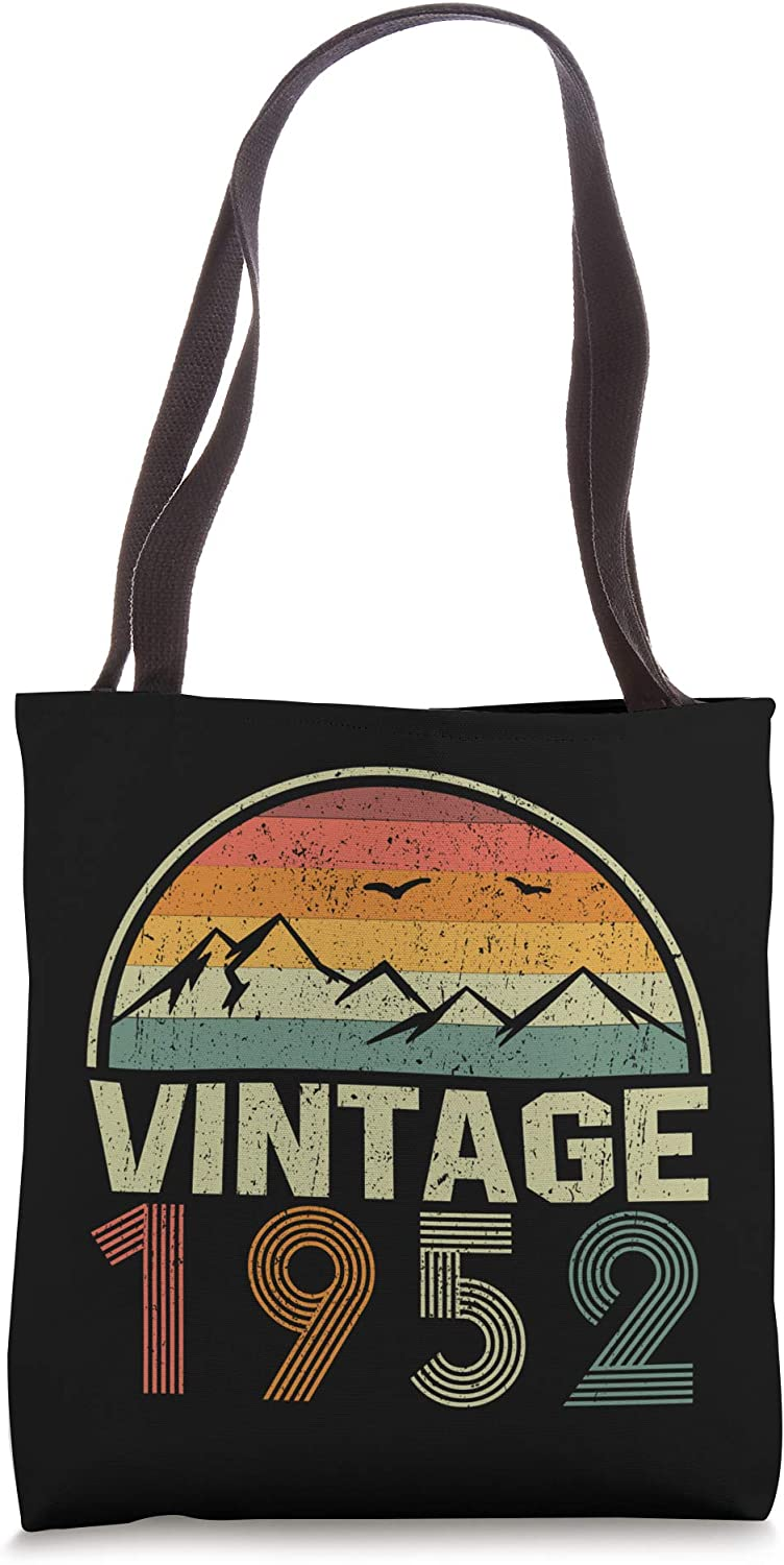 Classic 69th Birthday Gift Idea Vintage 1952 Tote Bag