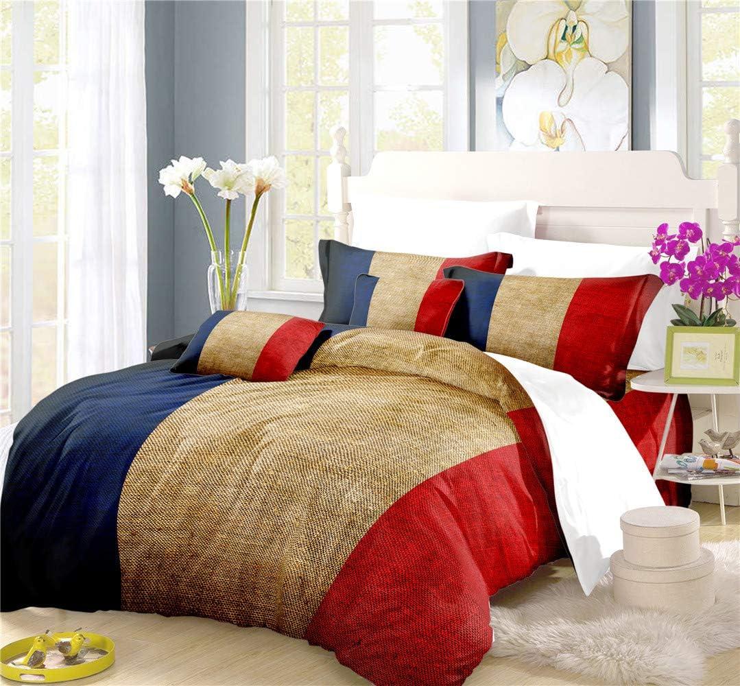 REALIN French Tricolor Duvet Cover Paris 期間限定 結婚祝い Bedding Bl Set