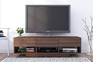 Nexera Rustik 3 Drawers TV Stand, 60