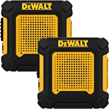 DEWALT DXFRS220 1 Watt Wearable Heavy Duty Walkie Talkies – Shock Resistant, Long..