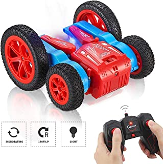 GoStock RC Stunt Car Toys for Boys Girls, 4WD Remote Control Car for Kids 1/24 2.4Ghz