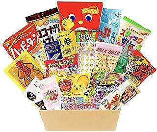 P-Shop Japanese Snacks Candy 22pcs Box 25.25 oz Hi-Chew Mini Corn Potage Ramune Soda Drink Gumi Rice Cracker Happy Turn Ca...