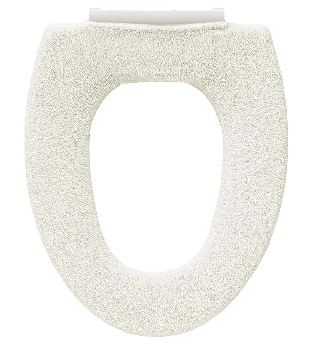 解釈的フォルダエコーオカ 乾度良好 Dナチュレ O型専用 便座カバー 日本製 (ホワイト)