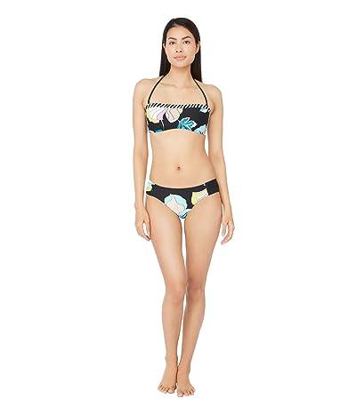 Trina Turk Sintra Flora Bandeau Bra Bikini Swimsuit Top (Multi) Women