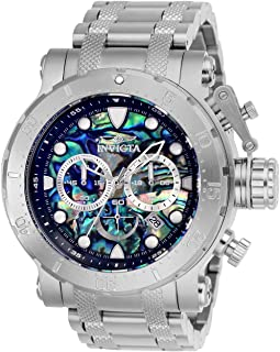 Men's Coalition Forces Quartz Watch with Stainless Steel Strap, Silver, 26 (Model: 26503)