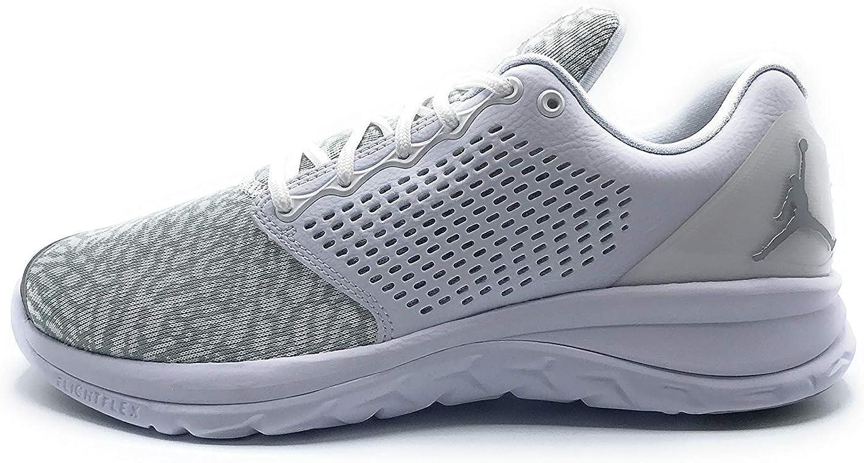 Nike Jordan Mens Jordan Trainer St Basketball shoes (10 D(M) US, White Mtlc Silver white silver)