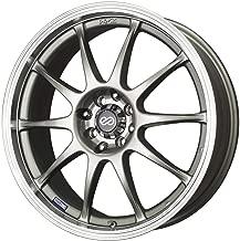 Enkei J10 (17 x 7, 5 x 100 & 5 x 114.3) 38mm Offset, Silver, (1) Wheel/Rim