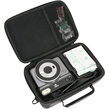 Khanka Hard Travel Case Replacement for Fujifilm Instax Square SQ6 - Instant Film Camera
