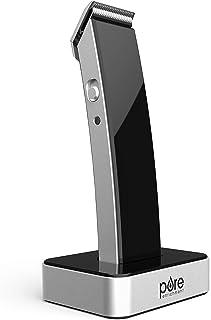 خالص غنی سازی TRYM لیتیم - ریش ریش و کیت نظافت 11 قطعه ای با کابل USB شارژ ، اسکله شارژ ، 4 لوازم جانبی اصلاح ، برس تمیز کننده ، برس تمیز ، روغن کلیپر و کیف مسافرتی