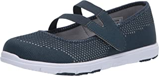 حذاء نسائي مسطح من Propét TravelWalker EVO Mary Jane, (كيب كود أزرق), 37 EU Narrow