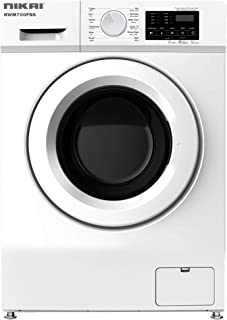 Nikai 7kg Fully Automatic Front Loading Washing Machine, White - NWM700FN6