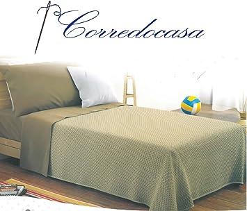 Corredocasa Copriletto In Piquet Di Puro Cotone Made In Italy Matrimoniale 260 X 280 Cm Amazon It Casa E Cucina