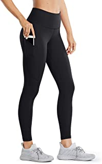 Women's High Waisted Yoga Pants with Pockets Naked...